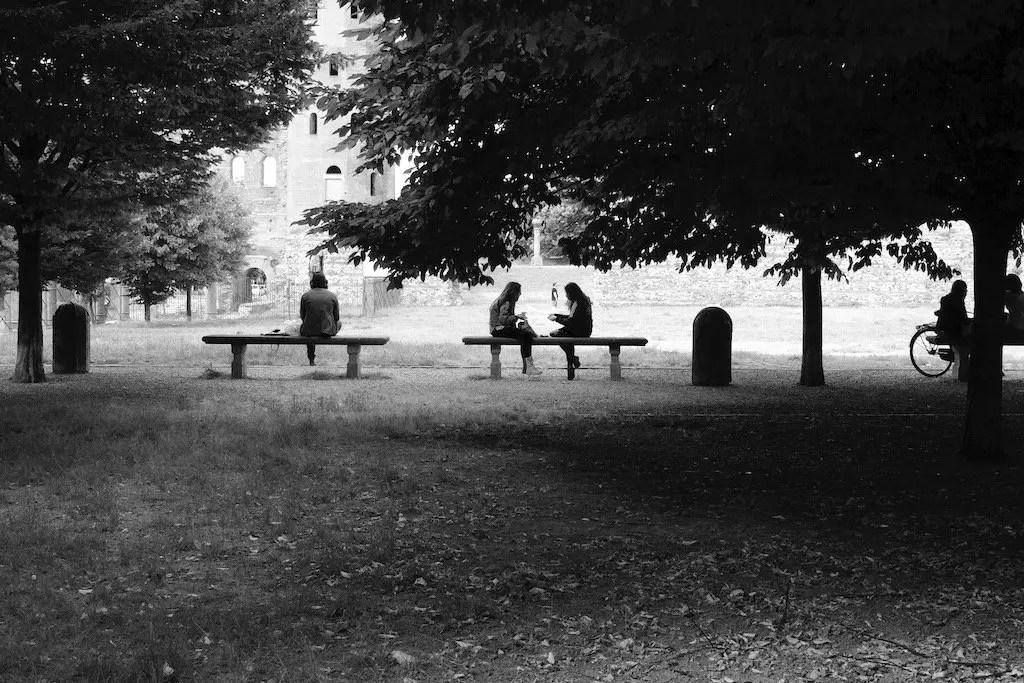 Torino Porte Palatine in bianco e nero normale
