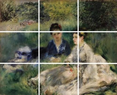 Regola dei terzi - Renoir