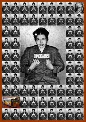 Gli invincibili 2013, Rosa Parks © Letizia Battaglia