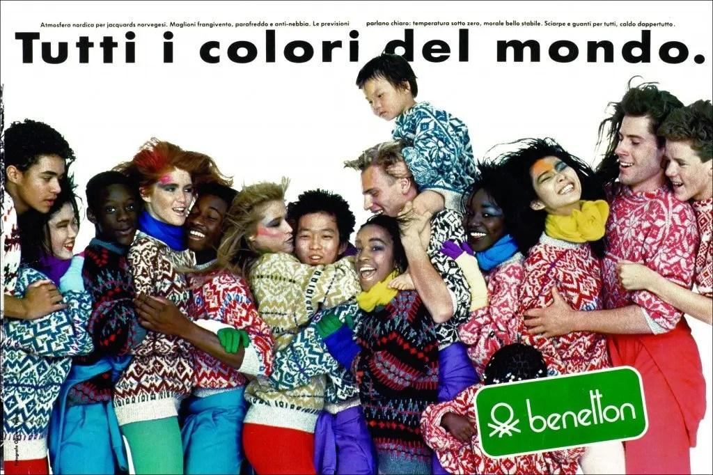 Oliviero Toscani - Benetton, Tutti i colori del mondo