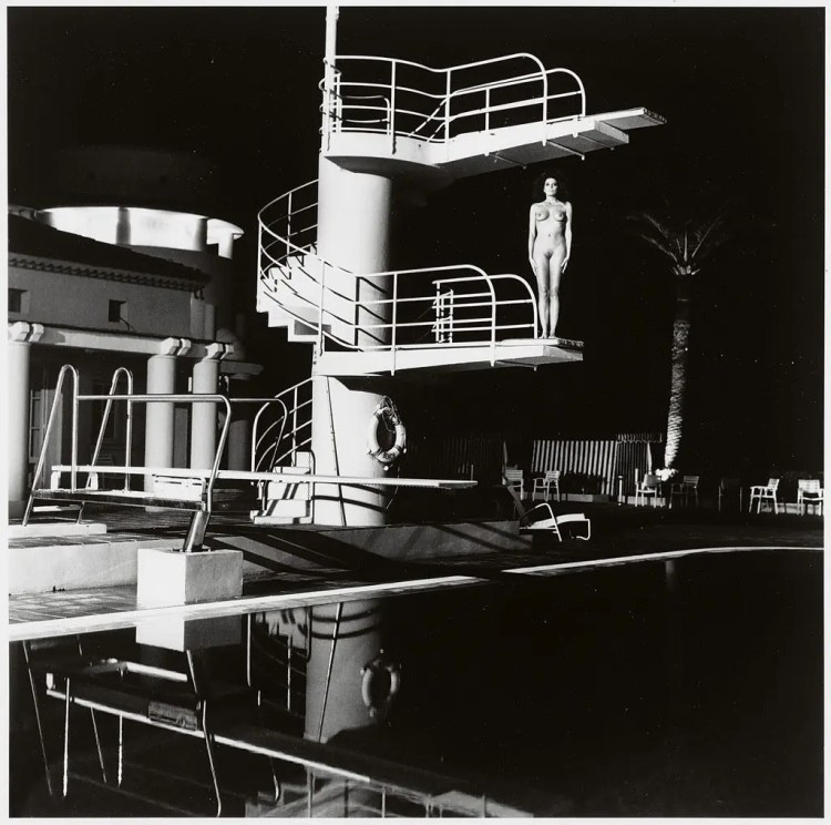 Helmut Newton - Diving Tower 1981