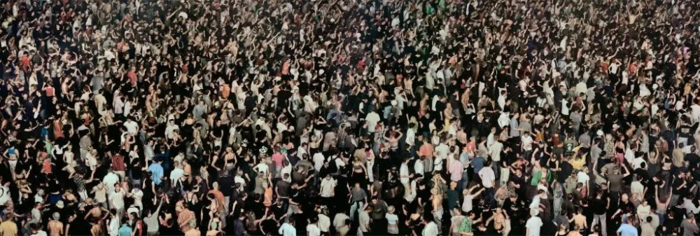 Andreas Gursky - May Day IV 2000