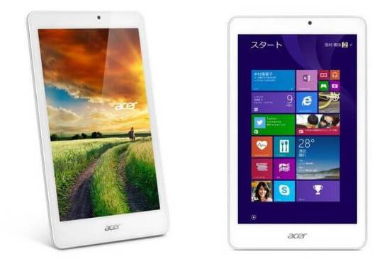 Acer のタブレット