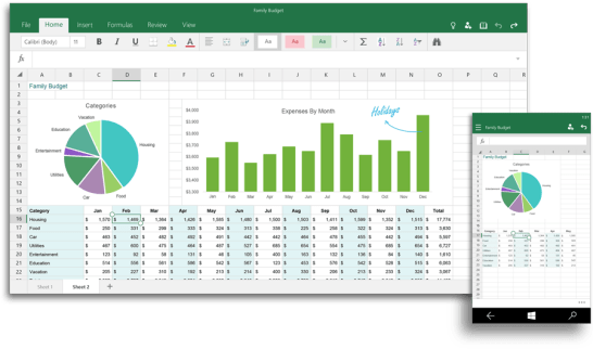 Office Excel 2016