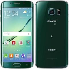 ドコモ - Galaxy S6 edge SC-04G(Green Emerald)