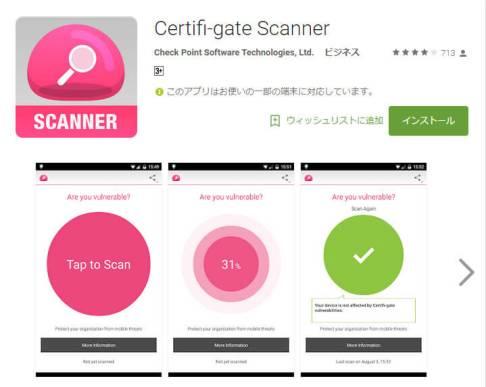 Certifi-gate Scanner - Google Play
