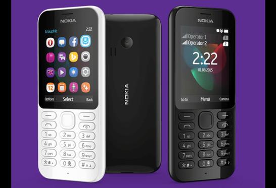 Nokia 222 / Nokia 222 Dual SIM - Microsoft