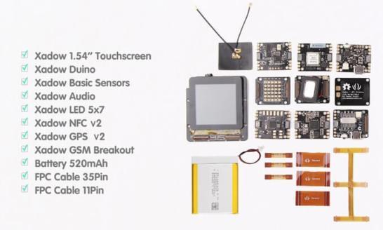 RePhone Kit (自分で組み立てる携帯電話) - モジュール