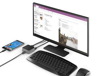 Microsoft Display Dockでディスプレイに接続