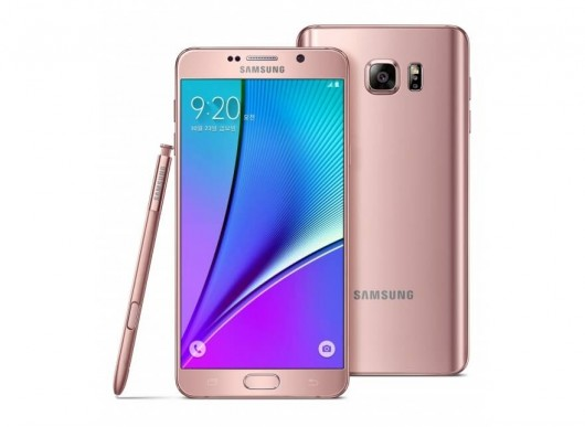 Galaxy Note 5 - Pink Gold-