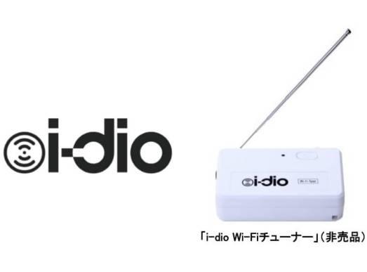 i-dio Wi-Fi チューナー