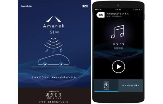 Amanek SIM / チャネル(アプリ)
