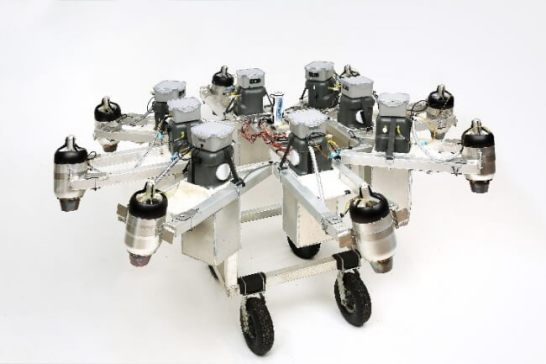 ジェットエンジン付きドローンJumpJet X(ジャンプジェットエックス)