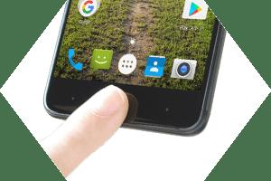 FR7101AK ‐ 指紋認証センサー搭載