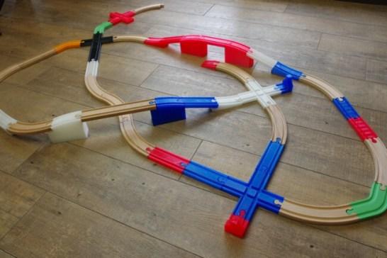 ワンレールによって線路の可能性は無限に広がります