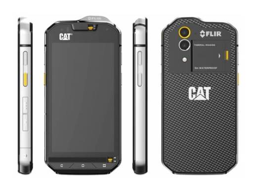 CAT®ブランドのプロフェッショナルスマートフォン「S60」