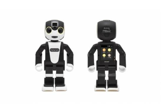 """モバイル型ロボット""""RoBoHoN"""" <SR-02M-W>"""