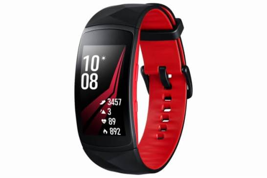 Galaxy Gear Fit2 Pro (レッド)