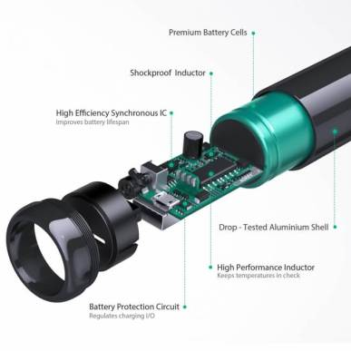 アルミ合金で高級感漂う、おしゃれな7000mAh USB充電器PB-N55が新発売!