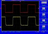 1KHz の矩形波をDC5Vに変換