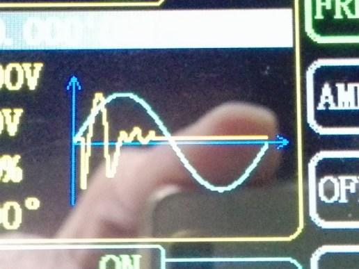 ファンクションジェネレータにプリセットされている波形