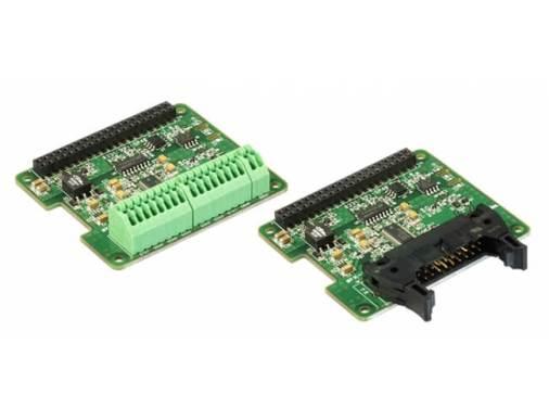端子台モデル(左)とMILコネクタモデル(右)