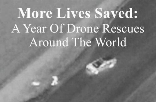 DJIが世界で広がるドローンの人命救助事例を最新レポートで発表