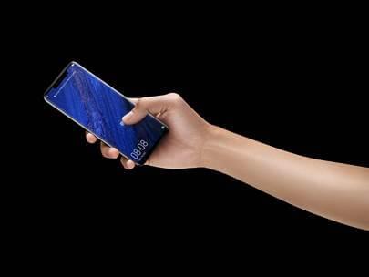 イン・スクリーン指紋認証機能と、精細な3D顔認証