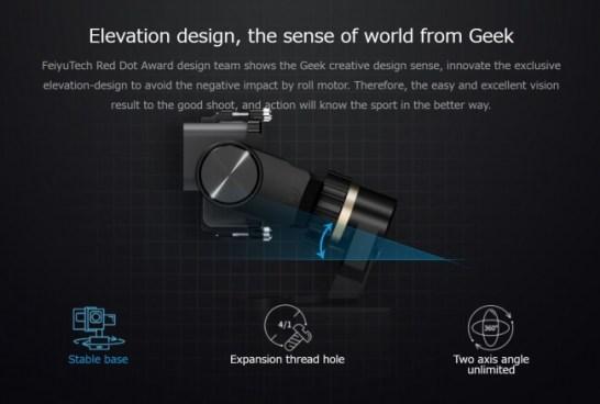 FeiyuTech、GoPro用生活防水対応ウェアラブルジンバル「WG2X」日本発売開始