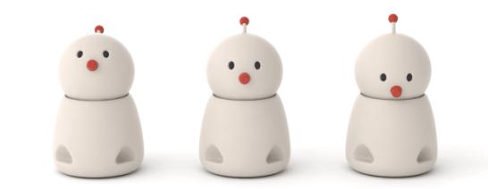 次世代版コミュニケーションロボット「BOCCO emo」新デザイン&ティザーサイトを公開!