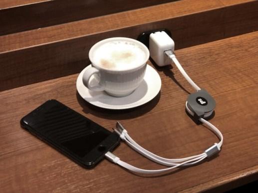 業務用 3in1 USB充電ケーブル「U4B TU-01」発売のお知らせ