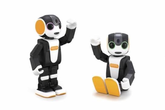 モバイル型ロボット『RoBoHoN(ロボホン)』の新製品3機種を発売