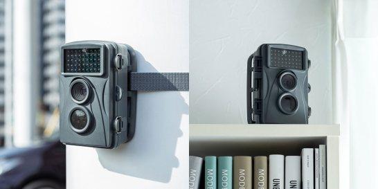 小型セキュリティカメラ「CMS-SC01GY」- サンワサプライ