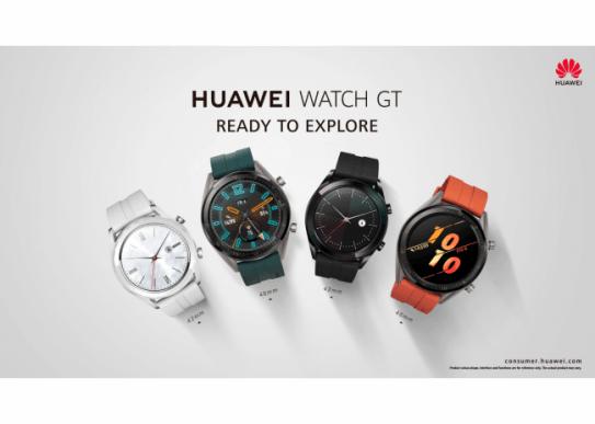 『HUAWEI WATCH GT』の出荷台数が全世界で200万台を突破