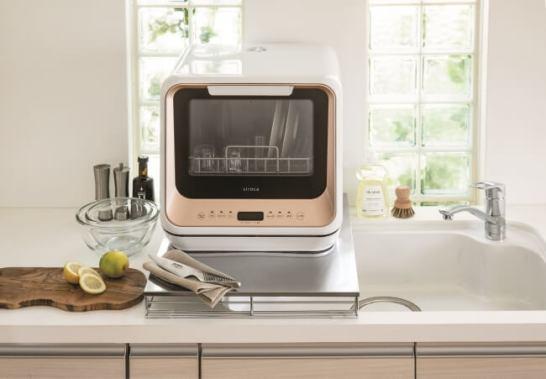 工事いらない食器洗浄乾燥機
