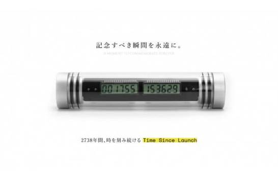Time since launch(タイムシンスローンチ)