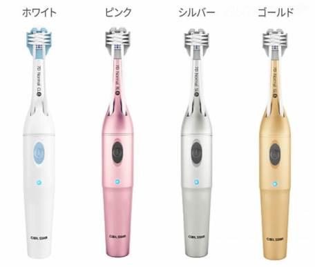 歯の表裏と頭を一気に磨き上げる電動歯ブラシ「COOLSSHA」(クールシャ)