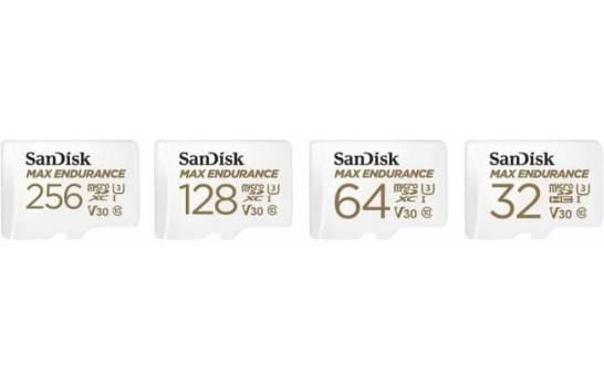 サンディスク MAX ENDURANCE 高耐久 microSDカード