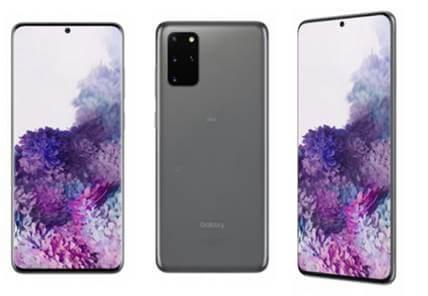Galaxy S20+ 5G - コスミック グレー