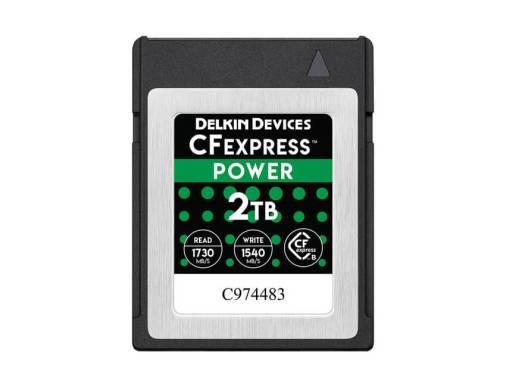 Delkin が 2TB CFexpress メモリカードを初めて市場に投入