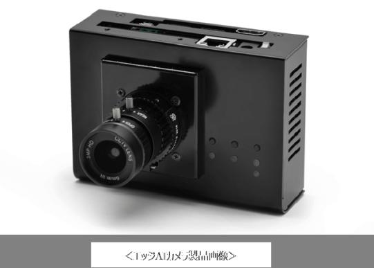 ビズライト・テクノロジー社製エッジAIカメラ