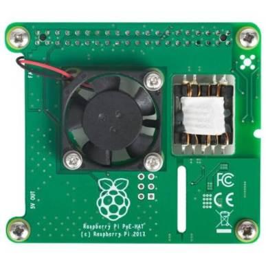 Raspberry Pi PoE+ HAT - スイッチサイエンス