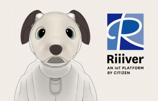 IoTプラットフォーム『Riiiver』※1とaiboが連携