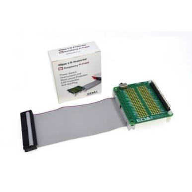 Raspberry Pi 400用 40ピン I/Oプロテクター(グレー)