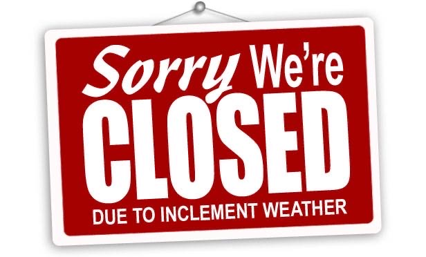 Picture Worth Custom Framing Inclement Weather Closed