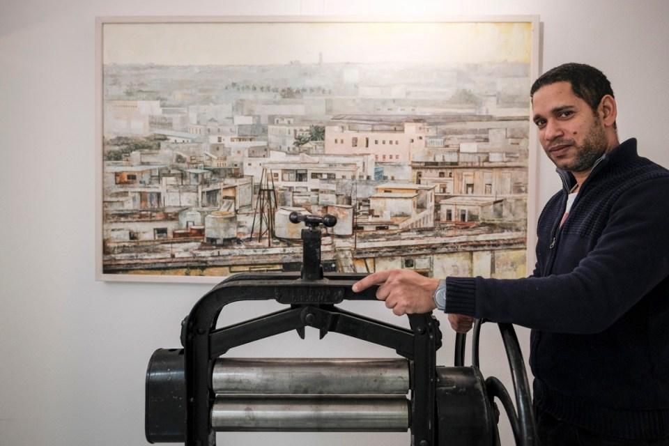 Cuban Painter Geyser-Manzano shows his Art from Cuba in Zurich
