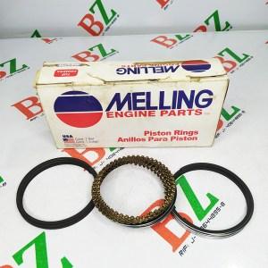 Juego de anillos Chevrolet modelo Century motor 2.8 marca Melling medida 1.50 Cod m2c 5632