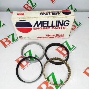 Juego de anillos Ford modelo Fortaleza motor 4.2 Melling medida 0.50 Cod m2c148