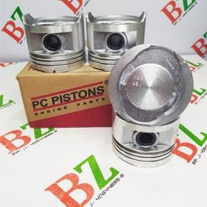 EPV 2506 0.30 3 Juego de Pistones Med 0.75 A 0.30 Chevrolet Monza motor 1.8 marca PC Pistons