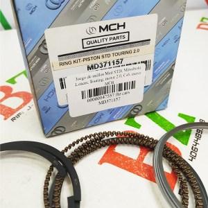 MD371157 Juego de anillos Med STD Mitsubishi Lancer Touring motor 2.0 Cs6 marca MCH